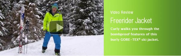 Marmot Freerider Jacket Video Review